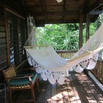 hammock at our cabin
