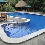 pool at the lodge
