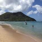 Love the beach & the people. The beach food is awesome if you like eastern Caribbean food. You c