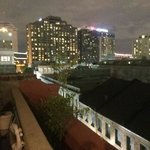 Night view from the roof. Actually 6th floor