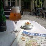 La Curtius - a delightful change from cheap white wine
