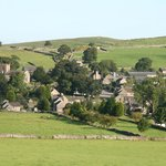 The pretty village of Wetton nestled in the hills of the Dovedale and Manifold Valleys