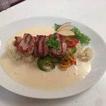 Medallions Of Pork Fillet With A Cider Cream Sauce