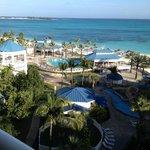 Resort looking north