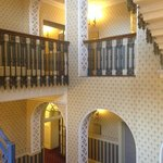 Wonderful Staircase in the Royal Victoria, Sheffield