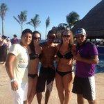 entertainment team - mauricio, eddy, yonatan!