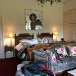 Grand Tour: the massive bed
