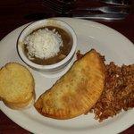 Jambalaya,  crawfish pie, and a file gumbo!