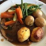 Roast Lamb and Trimmings