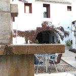 Fuente patio-terraza