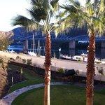 Vistas do rio desde o Hotel