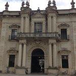 Main façade of the University of Seville