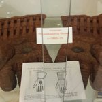 Old wicketkeeping gloves