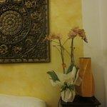 Эти чудесные орхидеи были подарены моей супруге администрацией отеля.