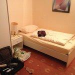 kurzes Bett für Personen bis maximal 1,70m