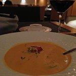 Pumpkin soup - GLO Hotel Art