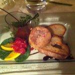 Médaillon de foie gras du Quercy