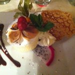 Parfait glacé au fruit de la passion et sa meringue