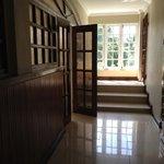 hallway (where renovated)