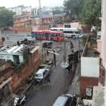 view froom the window it is normal for india :-)