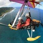 Paradise Air tour above North Shore