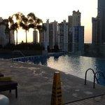 piscine le matin !!!