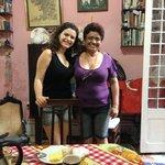 Breakfast time at Maritza's