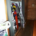 The ski/boot room!