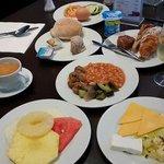 Le petit déjeuner à 4 euros au hf fenix urban