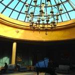 Atrium social area