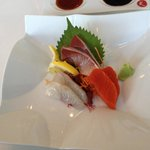 Omakase sashimi