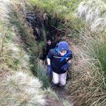 Secret cave on Bewick Moor