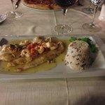 Fisch mit Gampas