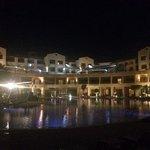 Coral Sea Aqua Club by night