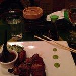 Succulent Peking Duck dish
