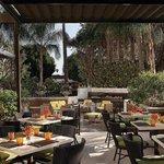Enjoy the best of Southern California's al fresco lifestyle while dining on the patio at Culina