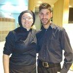 Chef y camarero del Restaurante