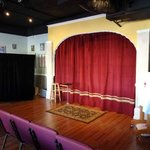 The stage at the Cabaret of Magic in Venice FL