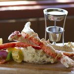 You can't leave Alaska without trying real Alaskan King Crab!