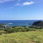 Hana Bay as seen from a short hike from Travaasa