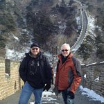 Great Wall With Snow