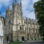 Canterbury Cathedral Close (the grounds)