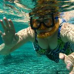 Snorkling in the Three Sisters Spring