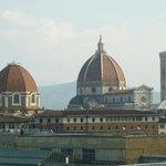 Esta impresionante foto de la catedral de Florencia la tomé desde la terraza de nuestra habitaci