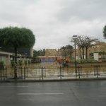 Plaza de las culturas tras el Hotel