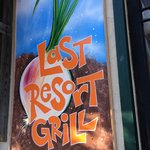 Last Resort Grill sign