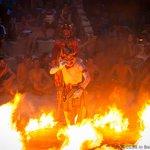 Hanuman in Fire