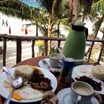yummy breakfast in our veranda