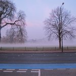 Clapham Common Foggy Start