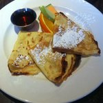 Hotel's Restaurant Breakfast Crepes